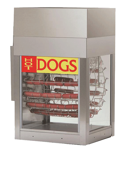 Hot Dog Wärmer